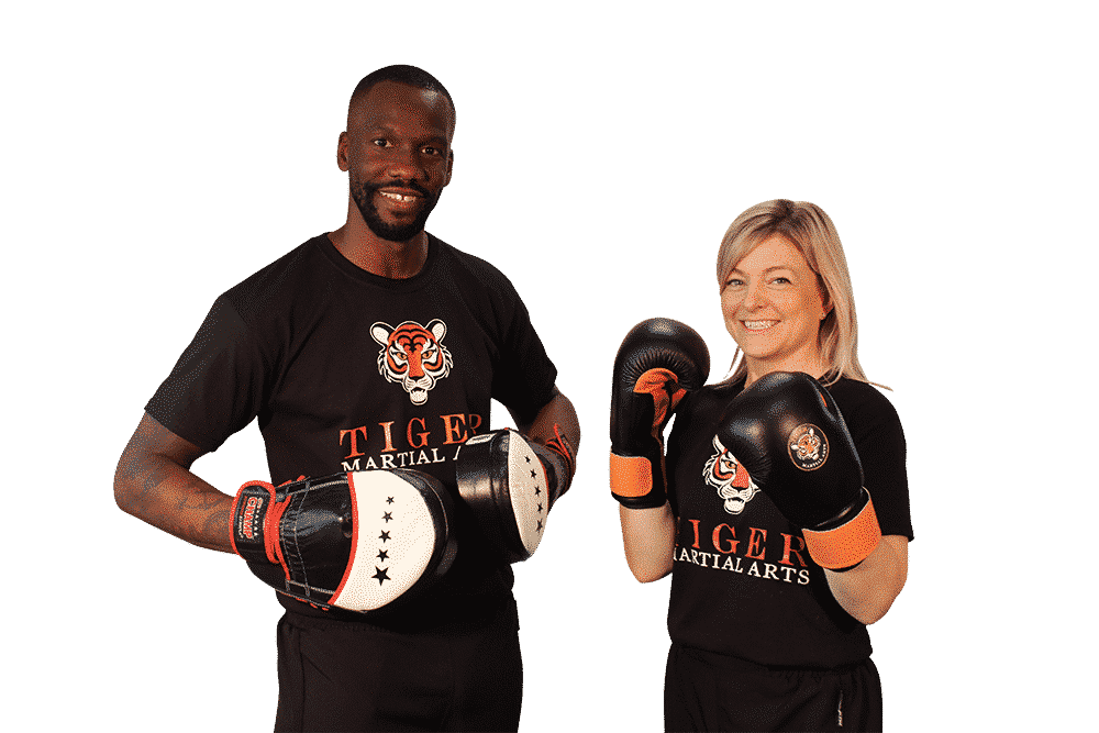 Adult Kickboxing classes at Tiger Martial Arts in Oxford