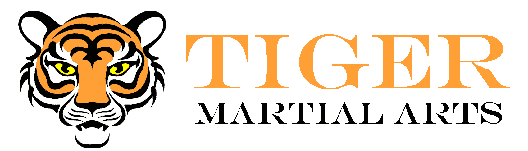 Tiger Martial Arts Main header logo