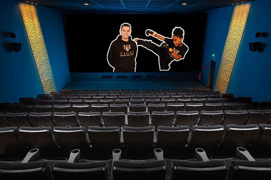 Tiger Martial Arts at the Cinema, Mr Stocker on the Big Screen - Martial Arts Movies